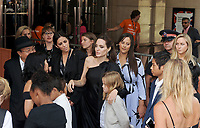 11 September 2017 - Toronto, Ontario Canada - Angelina Jolie, Vivienne Jolie-Pitt, Zahara Jolie-Pitt, Pax Jolie-Pitt. 2017 Toronto International Film Festival - &quot;First They Killed My Father&quot; Premiere held at Princess of Wales Theatre. <br /> CAP/ADM/BPC<br /> &copy;BPC/ADM/Capital Pictures