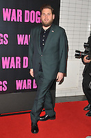 Jonah Hill at the &quot;War Dogs&quot; gala film screening, Picturehouse Central, Corner of Shaftesbury Avenue &amp; Great Windmill Street, London, England, UK, on Thursday 11 August 2016.<br /> <br /> &copy;CAN/Capital Pictures / MediaPunch  ** USA and South America ONLY**