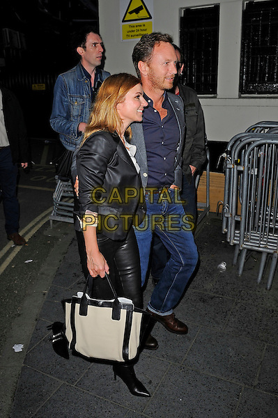 LONDON, ENGLAND - AUGUST 29: Geri Halliwell and Christian Horner attend the Kate Bush concert at Eventim Apollo on August 29, 2014 in London, England<br /> CAP/MAR<br /> &copy; Martin Harris/Capital Pictures