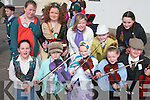 Musicians  Taking part in the St. Patrick's day parade in Caherciveen were front l-r Fiona McGuillicuddy, Amy Sugrue, Casey O'Donoghue, Rachel O'Connell, Lynd O'Neill.  Back l-r Noami O' Connell, Aoife O'Donoghue, Alcy O'Sullivan, Shaunna Cournane and Aoife Sugrue..   Copyright Kerry's Eye 2008