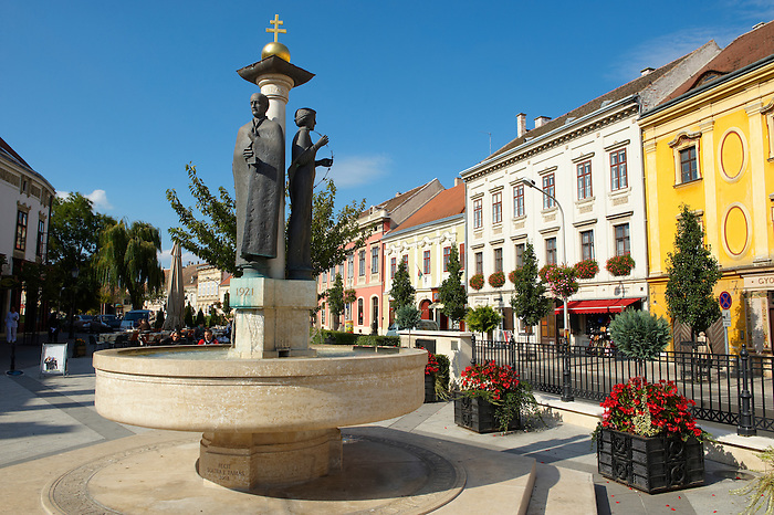 The fountain of Fidelity - Sopron, Hungary