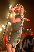 WEST PALM BEACH, FL - OCTOBER 02: Awolnation performs at The Perfect Vodka Amphitheater on October 2, 2016 in West Palm Beach Florida. Credit: mpi04/MediaPunch