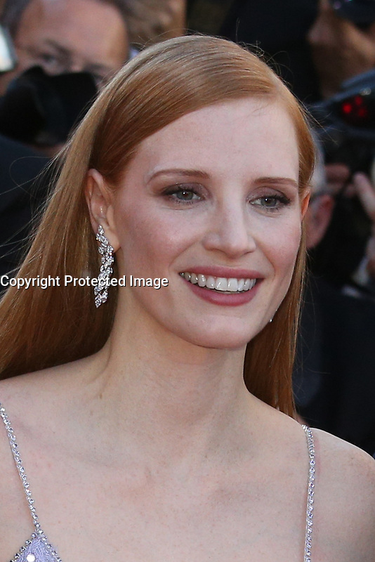 JESSICA CHASTAIN - RED CARPET OF THE FILM 'OKJA' AT THE 70TH FESTIVAL OF CANNES 2017