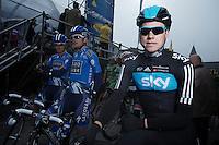 Edvald Boasson Hagen at the start..74th Gent-Wevelgem (2012).236km between Deinze & Wevelgem.winner 2012: Tom Boonen..