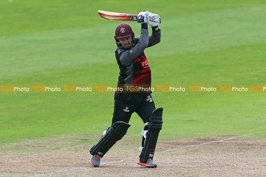 Johann Myburgh in batting action for Somerset during Somerset vs Essex Eagles, Royal London One-Day Cup Cricket at The Cooper Associates County Ground on 14th May 2017