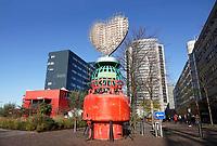 Nederland - Amsterdam - 2019. Stationsgebied bij Station Sloterdijk. . Foto Berlinda van Dam / Hollandse Hoogte