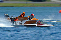Ken Godwin (824-F) (hydro)....Stock  Outboard Winter Nationals, Ocoee, Florida, USA.13/14 March, 2010 © F.Peirce Williams 2010