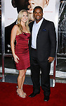 """WESTWOOD, CA. - December 16: Actor Alfonso Ribeiro (R) and Amanda arrive at the Los Angeles premiere of """"Seven Pounds"""" at Mann's Village Theater on December 16, 2008 in Los Angeles, California."""