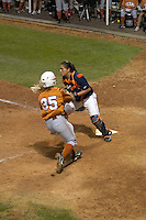 SAN ANTONIO, TX - MARCH 8, 2007: The Univesity of Texas Longhorns vs. The University of Texas at San Antonio Roadrunners Softball at Roadrunner Field. (Photo by Jeff Huehn)