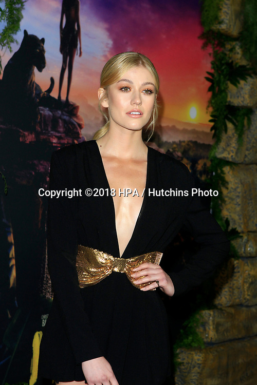 """LOS ANGELES - NOV 28:  Katherine McNamara at the """"Mowgli: Legend of the Jungle"""" Premiere at the ArcLight Theater on November 28, 2018 in Los Angeles, CA"""