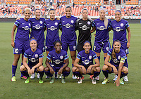 Team Photo of the Orlando Pride shot prior to their game with the Houston Dash on Friday, May 20, 2016 at BBVA Compass Stadium in Houston Texas. The Orlando Pride defeated the Houston Dash 1-0.