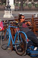 Italien, Piemont, auf der Piazza Castello in Turin (Torino)
