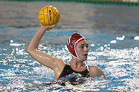 STANFORD, CA - FEBRUARY 7:  2-Meter defender Jessica Steffens #17 of the Stanford Cardinal during Stanford's 12-10 loss in overtime against the USC Trojans on February 7, 2009 at Avery Aquatic Center in Stanford, California.