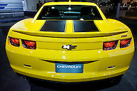 A Chevrolet is seen  at the 2013 New York International Auto Show in New York March 27, 2013. The 113th New York International Auto Show, which runs from March 29 to April 7, features 1,000 vehicles as well the latest in tech, safety and innovation.  .VIEWpress /Kena Betancur