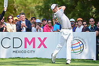 Justin Thomas (USA) watches his tee shot on 6 during round 4 of the World Golf Championships, Mexico, Club De Golf Chapultepec, Mexico City, Mexico. 3/5/2017.<br /> Picture: Golffile | Ken Murray<br /> <br /> <br /> All photo usage must carry mandatory copyright credit (&copy; Golffile | Ken Murray)