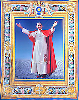 Pope Francis beatification of Paul VI, St Peter's square at the Vatican. Octobe 19, 2014