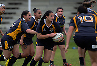 Action from the Waikato premier women's rugby match between Otorohanga and Taupiri at Otorohanga Rugby Club in Otorohanga, New Zealand on Saturday, 14 July 2018. Photo: Dave Lintott / lintottphoto.co.nz