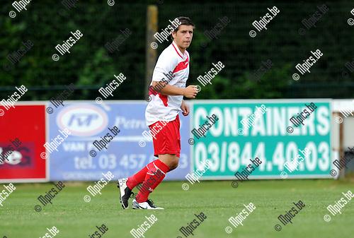 2012-08-16 / Voetbal / seizoen 2012-2013 / KFC Sint-Job / Yarno Bonaers..Foto: Mpics.be