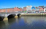 Bridge over River Lee, City of Cork, County Cork, Ireland, Irish Republic