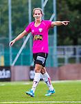 Solna 2014-08-16 Fotboll Damallsvenskan AIK - Kopparbergs/G&ouml;teborg FC :  <br /> Kopparbergs/G&ouml;teborgs Manon Melis gestikulerar<br /> (Foto: Kenta J&ouml;nsson) Nyckelord:  AIK Gnaget Kopparbergs G&ouml;teborg Kopparbergs/G&ouml;teborg portr&auml;tt portrait