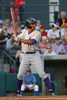 Brandon Short #15 of the of the  Winston-Salem Dash at bat during a game against the Myrtle Beach Pelicans on April 22, 2010 in Myrtle Beach, SC.