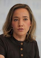 Berlin, Bundesfamilienministerin Christina Schroeder (CDU) am Donnerstag (20.06.13) bei einer Pressekonferenz zur Vorstellung der familienpolitischen Massnahmen der Bundesregierung.<br /> Foto: Michael Gottschalk/CommonLens