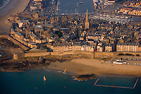 Europe/France/Bretagne/35/Ille et Vilaine/Saint-Malo: Vue aérienne