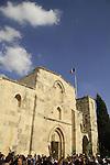 Israel, Jerusalem, Palm Sunday at Saint Anne Church