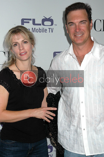 Patrick Warburton and wife Cathy<br />at the CBS Comedies' Season Premiere Party. Area, West Hollywood, CA. 09-17-08<br />Dave Edwards/DailyCeleb.com 818-249-4998