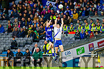 Niall O'Driscoll Saint Marys in action against Paraic Feerick Hollymount Carramore in the Intermediate All Ireland Football Final at Croke Park on Saturday.