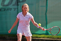 August 24, 2014, Netherlands, Amstelveen, De Kegel, National Veterans Championships, Nora Blom (NED)<br /> Photo: Tennisimages/Henk Koster
