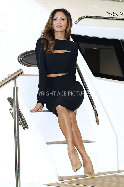 WWW.ACEPIXS.COM<br /> <br /> January 9 2015, London<br /> <br /> Nicole Scherzinger launches the new Sunseeker Predator 57 yacht at the London Boat Show on January 9 2015 in London<br /> <br /> By Line: Famous/ACE Pictures<br /> <br /> <br /> ACE Pictures, Inc.<br /> tel: 646 769 0430<br /> Email: info@acepixs.com<br /> www.acepixs.com