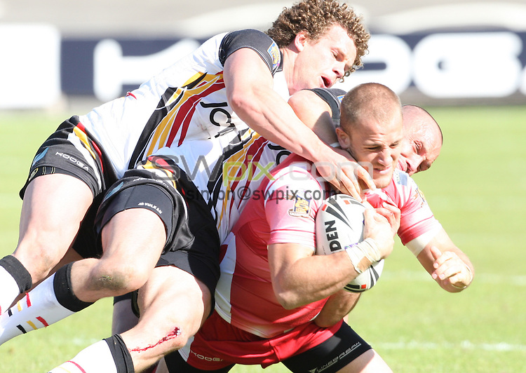 PICTURE BY DANIEL HARRISON/SWPIX.COM...Rugby League - Challenge Cup - Bradford Bulls v Wigan Warriors - Odsal, Bradford, England - 22/05/11...Wigan's Lee Mossop.
