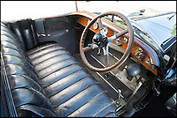 BNPS.co.uk (01202 558833)<br /> Pic: Bonhams/BNPS<br /> <br /> The uncovered chauffeur's seat was much more basic.<br /> <br /> Palace on wheels - unique Rolls Royce with an interior inspired by Marie Antoinette.<br /> <br /> Possibly the worlds most luxurious Rolls Royce with an amazing interior that wouldn't look out of place at the Palace of Versailles has emerged at auction. <br /> <br /> American Woolworths heir C.W. Gasque ordered the car for his wife in 1926, and was inspired to modify the cabin of the Phantom I after seeing a sedan chair that had belonged to Marie Antoinette displayed at the V&amp;A museum.<br /> <br /> The stunning bespoke interior features satinwood marquetry cabinets, a painted ceiling with cupids and cherubs, and embroided seats made from historic tapestries.<br /> <br /> Your aristocratic progress is further enhanced by a crystal decanter, silver service, confectionary bowl, french flower vases and silk curtains.<br /> <br /> However you may need a Sun King's ransom to buy the magnificent machine when its sold by Bonhams on December 4th with an estimate of &pound;700,000.