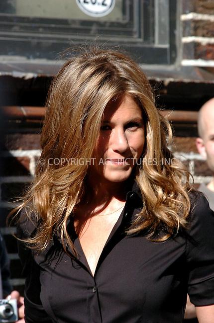 WWW.ACEPIXS.COM . . . . . ....July 2006, New York City. ....NY Candids: Jennifer Aniston ....Please byline: ALI GOLDSTEIN - ACEPIXS.COM.. . . . . . ..Ace Pictures, Inc:  ..(212) 243-8787 or (646) 769 0430..e-mail: info@acepixs.com..web: http://www.acepixs.com