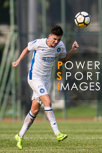 Lilley Nunez R&F F.C in action during the week three Premier League match between Kwoon Chung Southern and R&F at Aberdeen Sports Ground on September 16, 2017 in Hong Kong, China. Photo by Marcio Rodrigo Machado / Power Sport Images