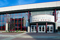 Prince George, BC, British Columbia, Canada - Civic Centre / Center Building