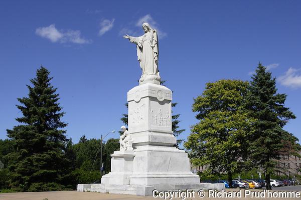 Saint-Joseph statue in Joliette Quebec