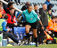 Assistant Referee Lisa Rashid runs the line<br /> <br /> Photographer David Shipman/CameraSport<br /> <br /> The EFL Sky Bet League One - Peterborough United v Fleetwood Town - Friday 14th April 2016 - ABAX Stadium  - Peterborough<br /> <br /> World Copyright &copy; 2017 CameraSport. All rights reserved. 43 Linden Ave. Countesthorpe. Leicester. England. LE8 5PG - Tel: +44 (0) 116 277 4147 - admin@camerasport.com - www.camerasport.com