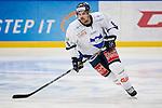 Södertälje 2013-02-02 Ishockey Allsvenskan , Södertälje SK - BIK Karlskoga :  .BIK Karlskoga 8 Nicholas Plastino i aktion.(Byline: Foto: Kenta Jönsson) Nyckelord:  porträtt portrait