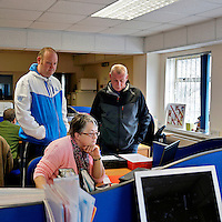 David and June (l-r) have both been helped by food banks run by the Durham Christian Partnership in association with the Trussell Trust in Durham County.Today, they volunteer to help others in times of personal crisis. The centres are run by volunteers supported by some full time paid staff. The region has a history of coal mining and industrial decline that has led to chronic levels of unemployment and dependence on sickness benefits today.