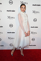 WEST HOLLYWOOD, CA - JANUARY 11: Olivia Culpo at Marie Claire's Third Annual Image Makers Awards at Delilah LA in West Hollywood, California on January 11, 2018. <br /> CAP/MPI/FS<br /> &copy;FS/MPI/Capital Pictures