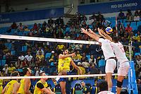 RIO DE JANEIRO, RJ, 16.06.2016 - BRASIL-IRÃ - Partida entre Brasil e Irã, válida pela Liga Mundial de Vôlei na Arena Carioca 1, no Parque Olímpico - Rio de Janeiro, nesta sexta-feira, 16. (Foto: Jéssica Santana/Brazil Photo Press)