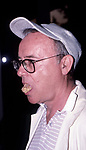 Buck Henry attends a movie premiere on September 6, 1988 in Los Angeles, California.
