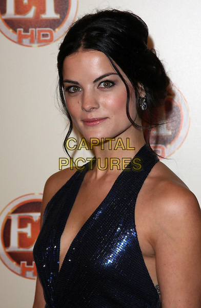 JAIMIE ALEXANDER .Entertainment Tonight Emmy Party Celebrates The 62nd Annual Primetime Emmy Awards at Vibiana, Los Angeles, California, USA..August 29th, 2010. .headshot portrait blue shiny sequins sequined halterneck.CAP/ADM/CH.©Charles Harris/AdMedia/Capital Pictures
