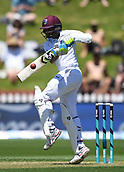 1st December 2017, Basin Reserve, Wellington, New Zealand; International Test Cricket, Day 1, New Zealand versus West Indies;  Shane Dowrich batting