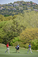 Rafael Cabrera Bello (ESP) and Lee Westwood (GBR) make their way down 2 during day 2 of the WGC Dell Match Play, at the Austin Country Club, Austin, Texas, USA. 3/28/2019.<br /> Picture: Golffile | Ken Murray<br /> <br /> <br /> All photo usage must carry mandatory copyright credit (© Golffile | Ken Murray)