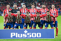 Atletico de Madrid during King's Cup match between Atletico de Madrid and Lleida Esportiu at Wanda Metropolitano in Madrid, Spain. January 09, 2018. (ALTERPHOTOS/Borja B.Hojas) /NortePhoto.com NORTEPHOTOMEXICO
