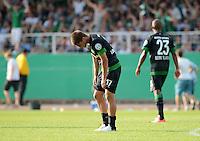 FUSSBALL   DFB POKAL   SAISON 2012/2013   19.08.2012 Preussen Muenster - Werder Bremen              Aleksandar Ignjovski (SV Werder Bremen) enttaeuscht