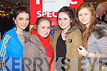 Pictured at the CH Chemist Open Evening on Friday, from left: Michelle O'Leary (Cahermoneen), Rebecca O'Halloran (St. Brendan's Park), Emma Casey (Knockmoyle) and Katie O'Riordan (Oakpark).